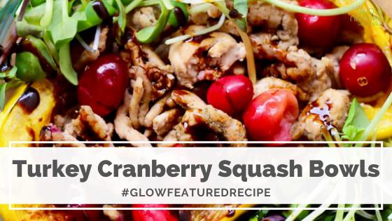 Turkey Cranberry Squash Bowls